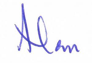 alan signature